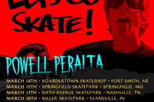 Lets Go Skate Tour