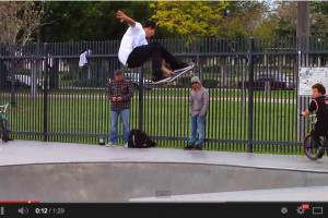 Charlie Blair at Chino Skatepark