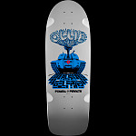 Powell Peralta Alan Gelfand Ollie Tank Skateboard Deck Silver - 10 x 30