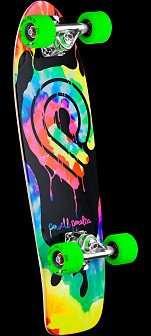 Powell Peralta PPP Tie Dye Cruiser 273 Skateboard Assembly - 7.35 x 25