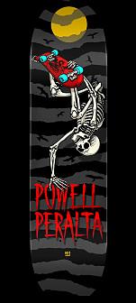 Powell Peralta Handplant Skelly Skateboard Deck Charcoal - 8 x 31.45