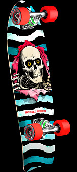 Powell Peralta Ripper WC Cruiser w/ Fish Tail - 8.6 x 27.74