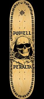 Powell Peralta Ripper Chainz Skateboard Deck Natural - 9.05 x 32.95