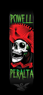Powell Peralta Te Chingaste Skateboard Deck Red - Shape 247 - 8 x 31.45