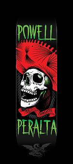 Powell Peralta Te Chingaste Skateboard Deck Red - Shape 247 - 8 x 31.45