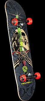 Powell Peralta Skull and Sword One Off Assembly - 7.88 x 31.67