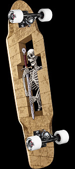 Powell Peralta Diligatis Pusher Complete Skateboard Assembly - 8.5 x 31.25
