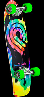 Powell Peralta PPP Tie Dye Cruiser 275 Skateboard Assembly - 8.6 x 27.88