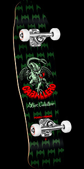 Powell Peralta Mini Caballero Dragon Complete Skateboard Black - 8 x 29.5