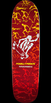 Powell Peralta Future Primitive Red Deck - 8.9 x 32.38