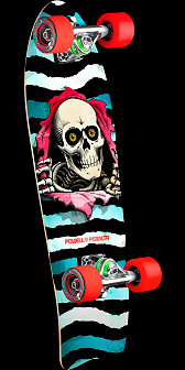 Powell Peralta PPP Tie Dye Cruiser w/ Fish Tail - 8.6 x 27.74