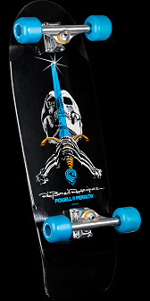 Powell Peralta Ray Rodriguez OG Skull and Sword Complete Black - 10 x 30