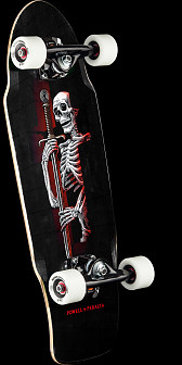 Powell Peralta Diligatis Pusher black Complete Skateboard Assembly - 8.75 x 27.75