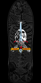 Powell Peralta Geegaw Skull and Sword Skateboard Deck
