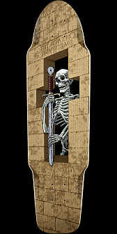 Powell Peralta Diligatis Pusher Skateboard Deck - 8.5 x 31.25