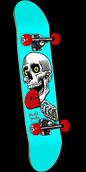 Powell Peralta Lolly Pop Complete Skateboard Blue - 7.625 x 31.625
