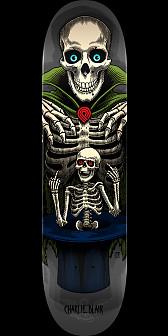 Powell Peralta Pro Charlie Blair Magician Skateboard Deck Gray - Shape 244- 8.5 x 32.08