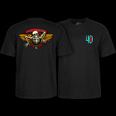 Powell Peralta 40th Anniversary Winged Ripper T-shirt Black