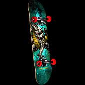 Powell Peralta Cab Dragon Cosmic Green Complete Skateboard - 7.5 x 28.65