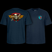 Powell Peralta 40th Anniversary Winged Ripper T-shirt Navy