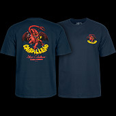 Powell Peralta Steve Caballero Original Dragon T-shirt - Navy