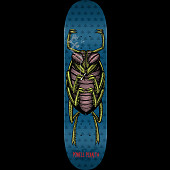 Powell Peralta Roach Skateboard Deck Blue - Shape 248 - 8.25 x 31.95