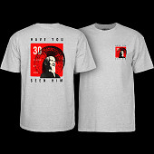 Powell Peralta Animal Chin 30 yrs. Grey T-shirt