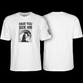 Powell Peralta Animal Chin T-shirt - White