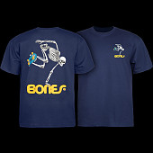 Powell Peralta Skateboarding Skeleton Youth T-shirt Navy