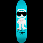 Powell Peralta Funshape SLAOM 2 Skateboard Deck Turquoise - 8.4 x 31.5
