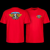Powell Peralta Winged Ripper T-shirt - Red