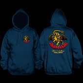 Powell Peralta Steve Caballero Dragon Hooded Sweathshirt Navy