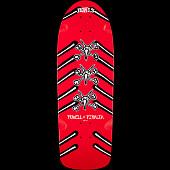 Powell Peralta OG Rat Bones Skateboard Deck Red - 10 x 31.75