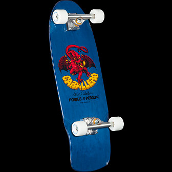 Bones Brigade Caballero Dragon Blue Complete Skateboard Assembly - 10 x 29.75