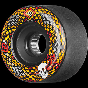 Powell Peralta Snakes 69mm 85A 4pk Black