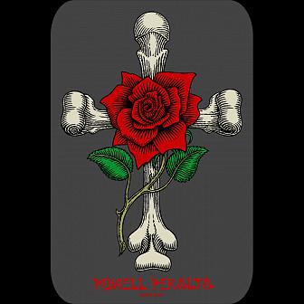 Powell Peralta Rose Cross Sticker Single