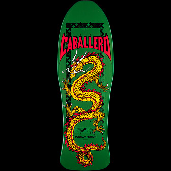 Powell Peralta Steve Caballero Chinese Dragon Deck Green - 10 x 30