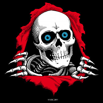 "Powell Peralta 12"" Ripper Ramp Sticker (Single)"