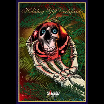 Skate One Holiday eGift Card