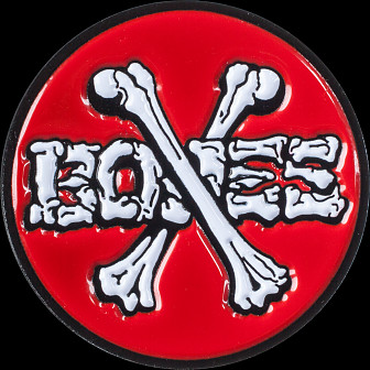 Powell Peralta Crossbones lapel Pin