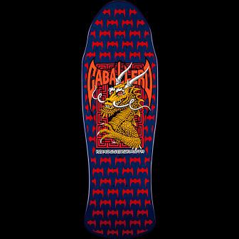 Powell Peralta Caballero Street Skateboard Deck Navy/Red - 9.625 x 29.75