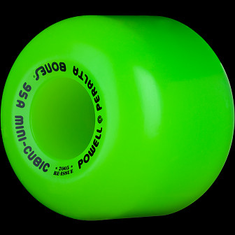 Powell Peralta Mini-Cubic 64mm 95a - Green (4 pack)