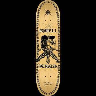 Powell Peralta SAS Chainz Skateboard Deck Natural - 8.75 x 32.95