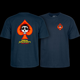 Powell Peralta Steadham T-shirt Navy
