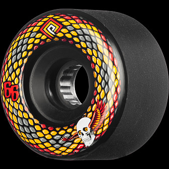 Powell Peralta Snakes 66mm 85A 4pk Black