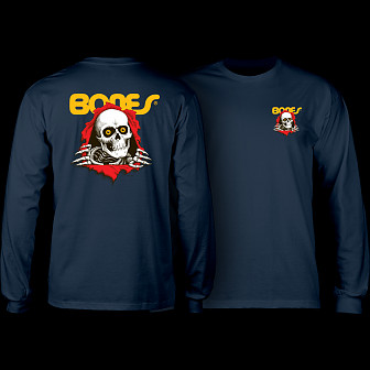 Powell Peralta Ripper L/S Shirt Navy