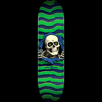 Powell Peralta Ripper Skateboard Deck Green - Shape 245 - 8.75 x 32.95