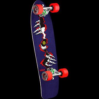 Powell Peralta Ripper Eye Cruiser 275 Skateboard Assembly - 8.62 x 27.88