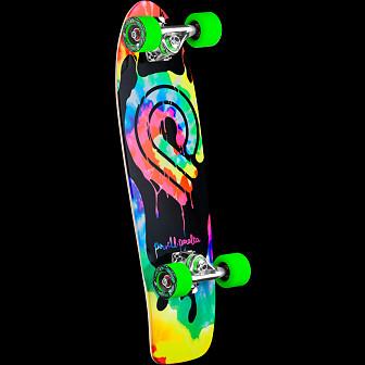 Powell Peralta PPP Tie Dye Cruiser 275 Skateboard Assembly - 8.6 x 27.88