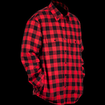Powell Peralta Flannel Jacket - Red/Black